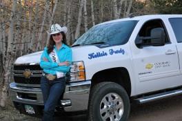 kellsie and truck 2 081